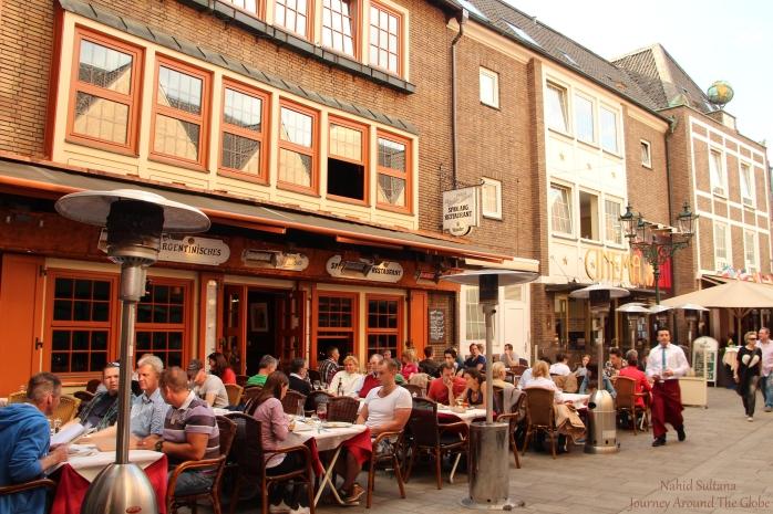 Schneider-Wibbel-Gasse in Dusseldorf, Germany