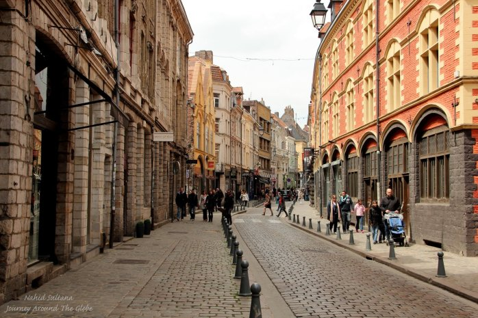 Vieux Lille - an old district of Lille