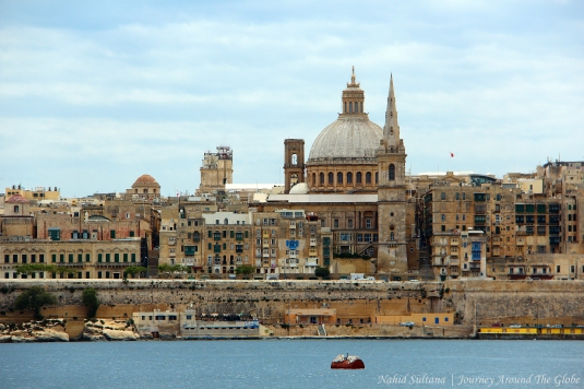 Valletta, Malta -the whole city is A UNESCO World Heritage Site