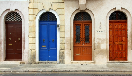 Loved these colorful doors of Malta