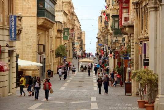 Old town of Valletta in June...not too crowded yet