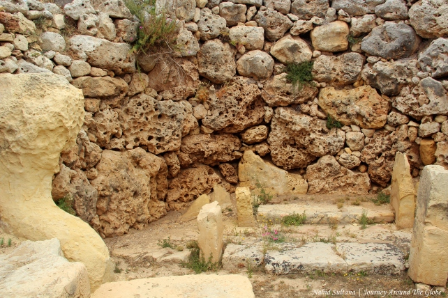 Ggantija Temples in Gozo, Malta - the oldest standing free-structure in the world
