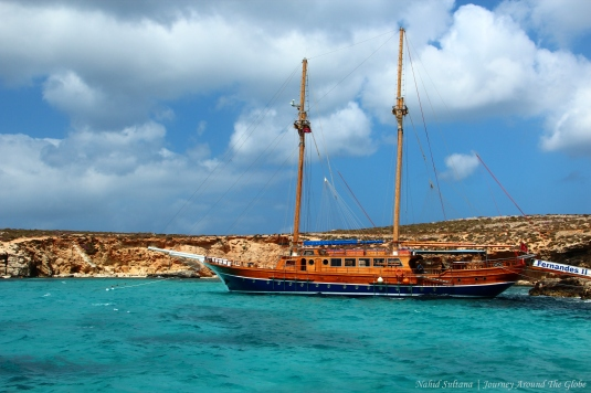 Blue Lagoon in Comino, Malta