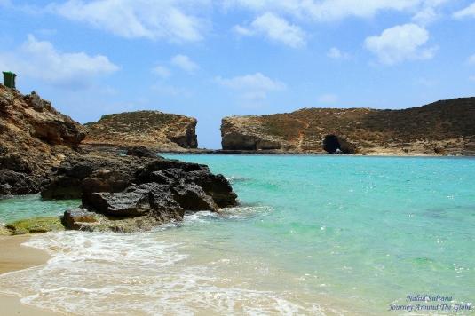 Blue Lagoon of Comino in Malta