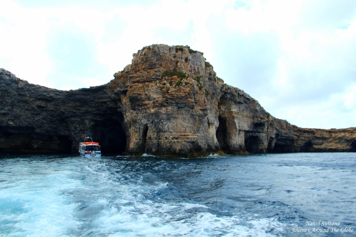 Crystal Caves of Comino in Malta