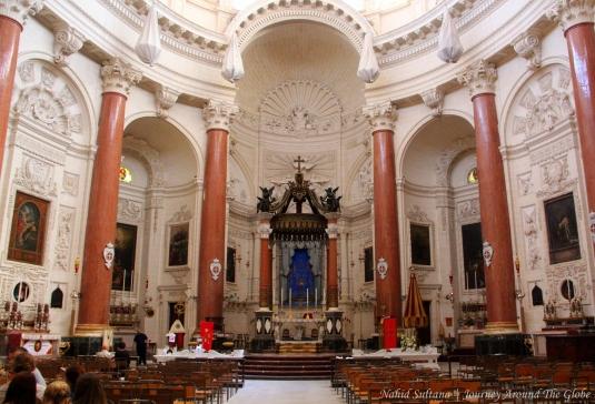 Tel Madonna Tel Karmnu Church in Valletta, Malta