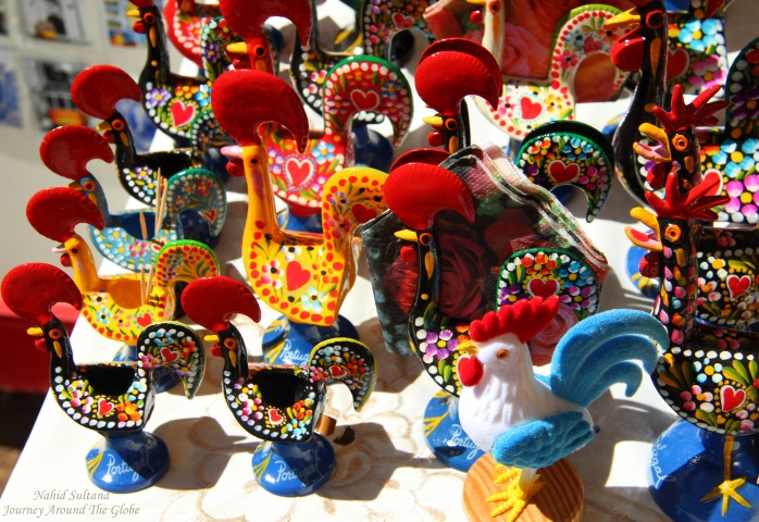 Roosters of Portugal - a popular souvenir to bring back home