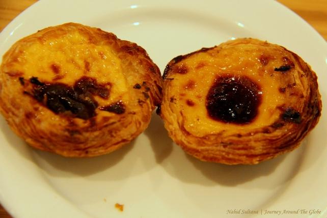 Pastei de Nata - a popular sweet treat in Lisbon, Portugal