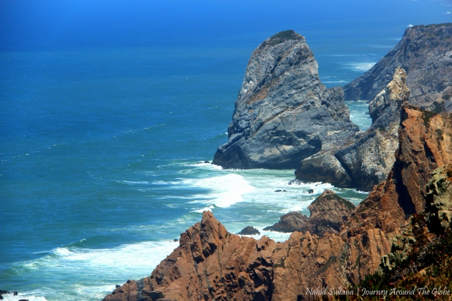 Cabo da Roca in Portugal - the western most tip of Continental Europe