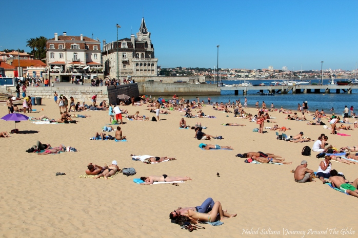 Cascais Beach in Portugal