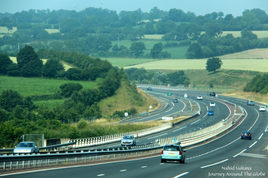 Driving in Normandy...a very scenic region of France