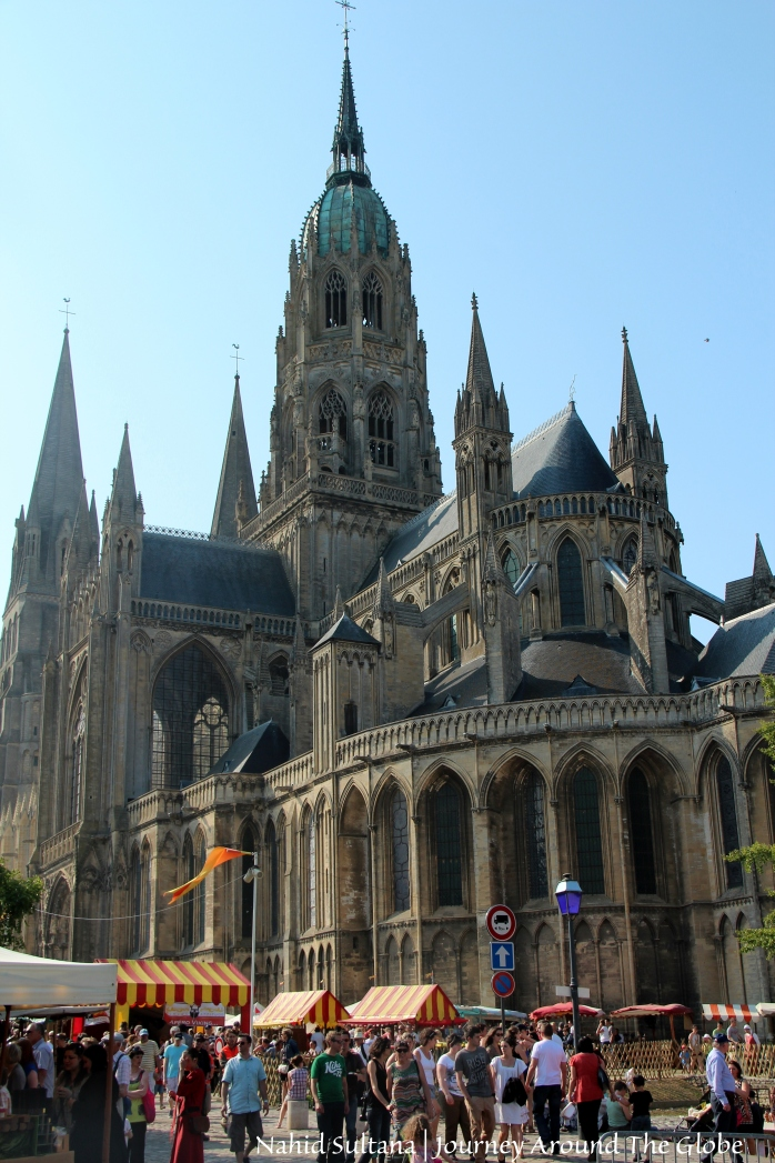 Bayeux Cathedral in Bayeux, France