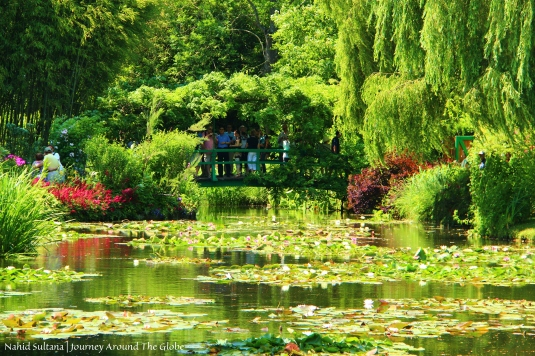 Impressionist Claude Monet's iconic garden in Giverny, France