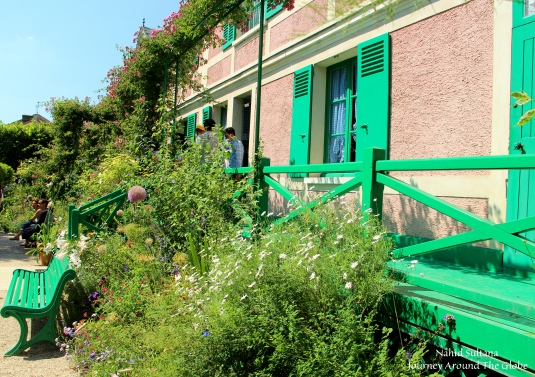 Monet' house in Giverny, France