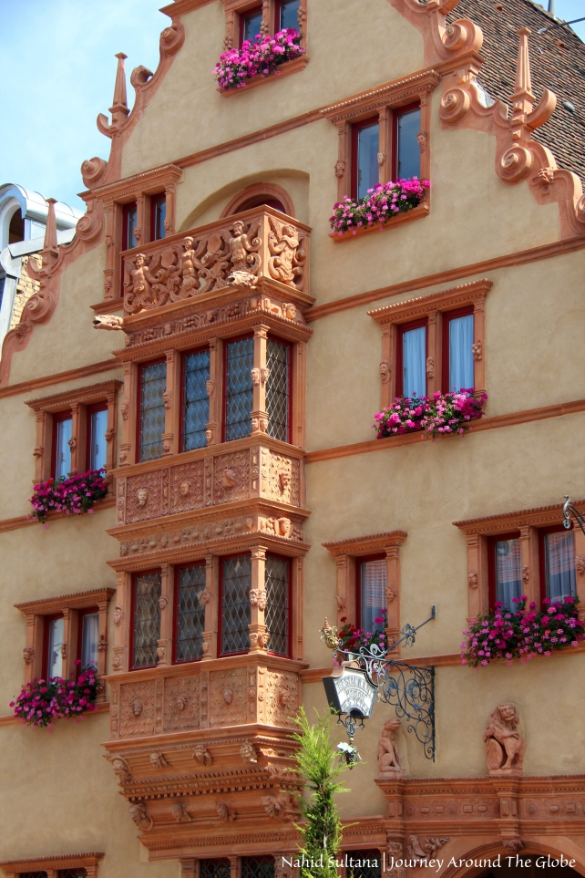 Maison des Tetes (House of Heads) in Colmar, France