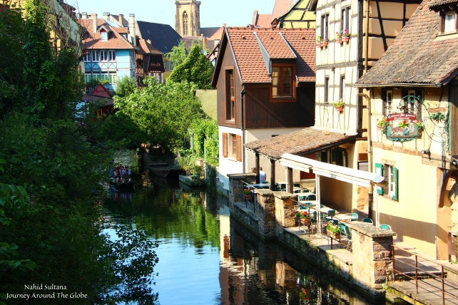 """Petit Venice"" in Colmar, France"