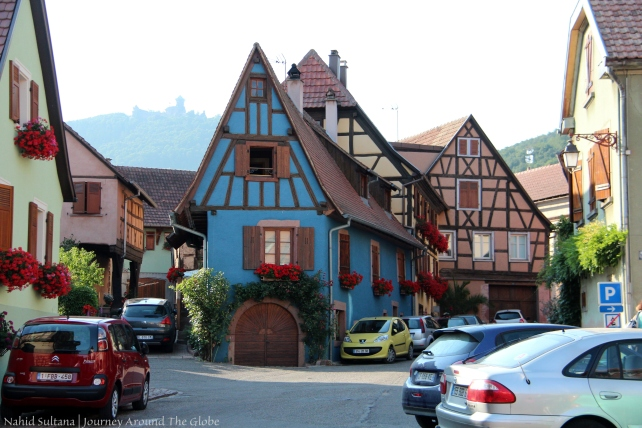 Don't know the name of this village in Alsace, just looked too pretty