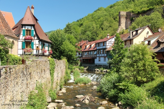 Kayserberg - a small Alsatian village in France