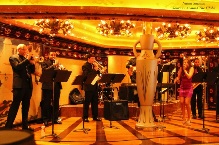 Motown Concert on board in Carnival Legend