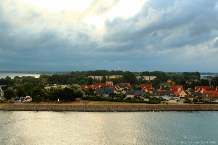 Warnemunde - a scenic fishing village in Germany
