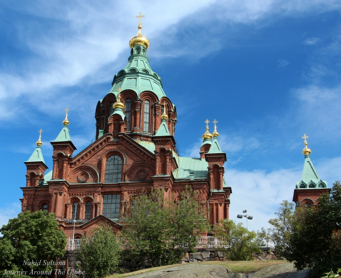 Uspenski Cathedral in Helsinki