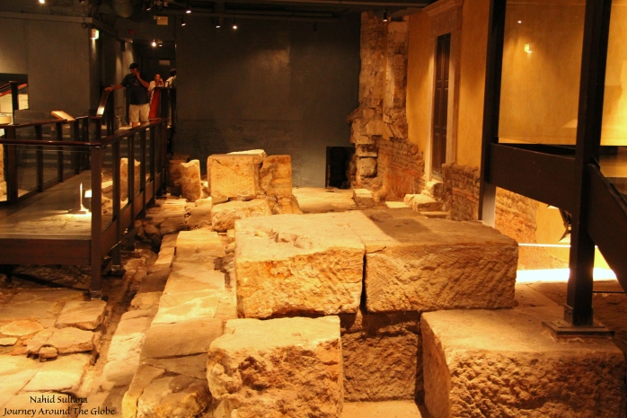 2000 years old ruins of Roman Baths in Bath, England