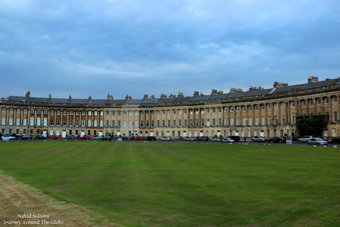 Royal Crescent of Bath, England