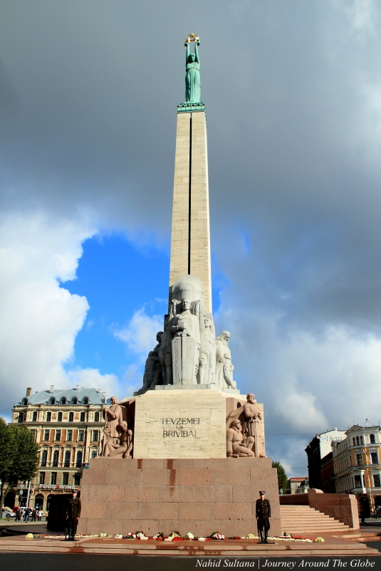 Monument of Freedom, a symbol of independence