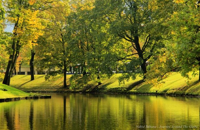 Almost fall in Riga, Latvia