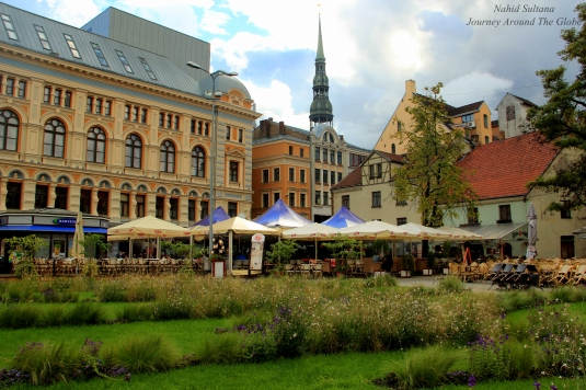 Livu Square in Riga old town
