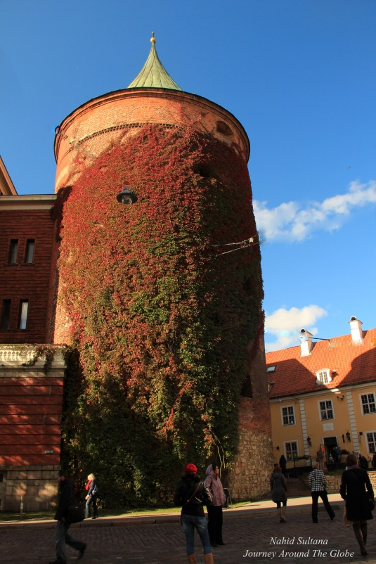 Powder Tower - is the only tower of the old fortification system that is still standing in Riga