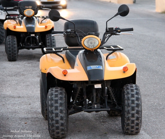ATV - the best way to get around the island