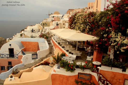 Oia - the most beautiful village of Santorini