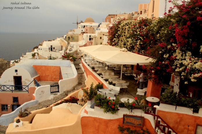 Oia - the most beautiful village of Santorini