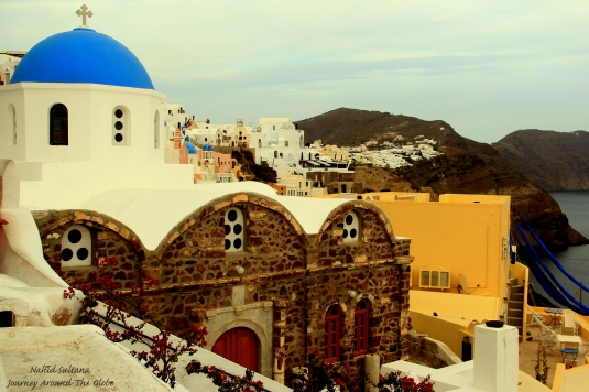 Santorini - one of the most beautiful islands in Greece