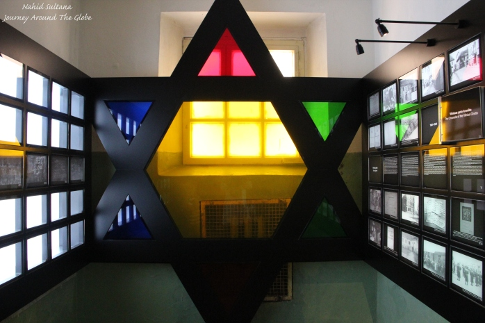 Inside KGB Museum where  thousands of Jews were killed by Nazis during WWII, Vilnius, Lithuania