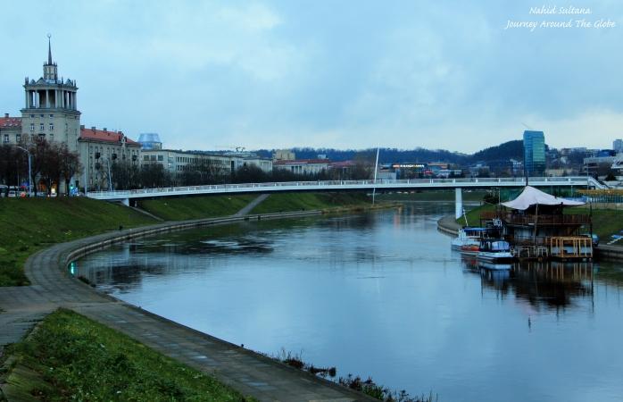 Vilnius, Lithua by River Neris