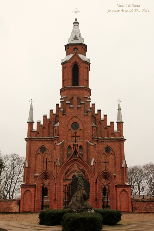 Church of Saint Mary of Scapular in Karnave, Lithuania