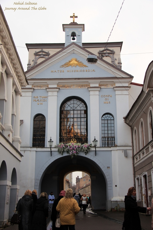 The Gate of Dawn in Vilnius, Lithuania