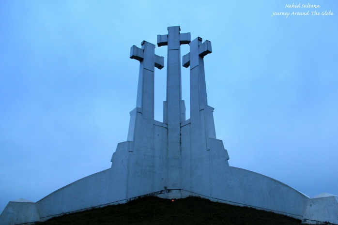 Hill of Three Crosses in Vilnius, Lithuania