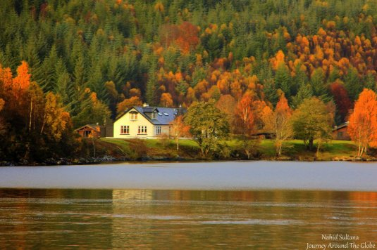 A small house by Loch Ness
