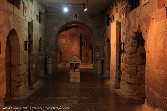 Inside Limassol Castle in Cyprus