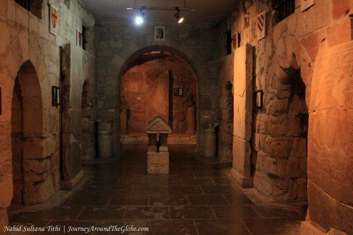Inside Limassol Castle in Cyprus
