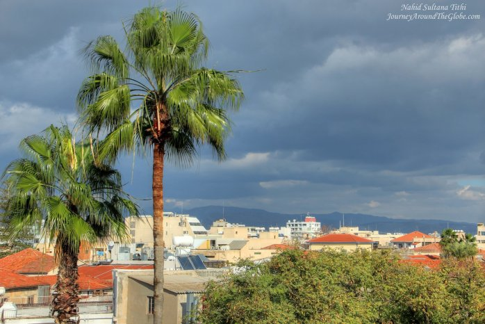 From the terrace of Limassol Castle in Cyprus