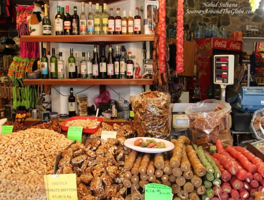 Some typical Cypriot treats and delights in Troodos Mountains