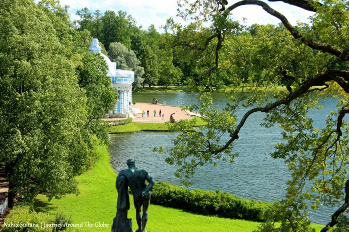Garden of Tsars' Village in St. Petersburg