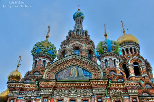 Church on Spilled Blood in St. Petersburg, Russia