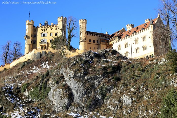 Hohenschwangau Castle, built by King Maximilian II of Bavaria in southern Germany