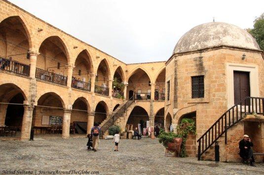 Buyuk Han (Big Inn) from 1572 in Northern Cyprus