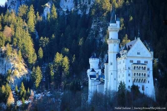 Neuschwanstein Castle, as seen from Hohenschwangau Castle
